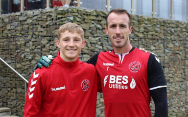 Fleetwood BTEC Student Assists With First-Team Training