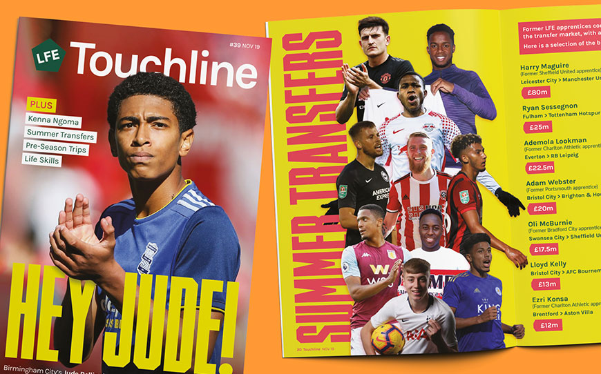 Touchline Issue 39 - Out Now