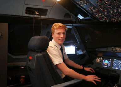 Smith Takes To The Skies In New Career As A Pilot
