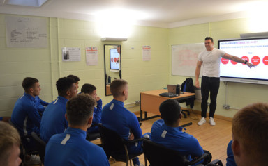 Hirst Tells North End Apprentices To Be Yourself