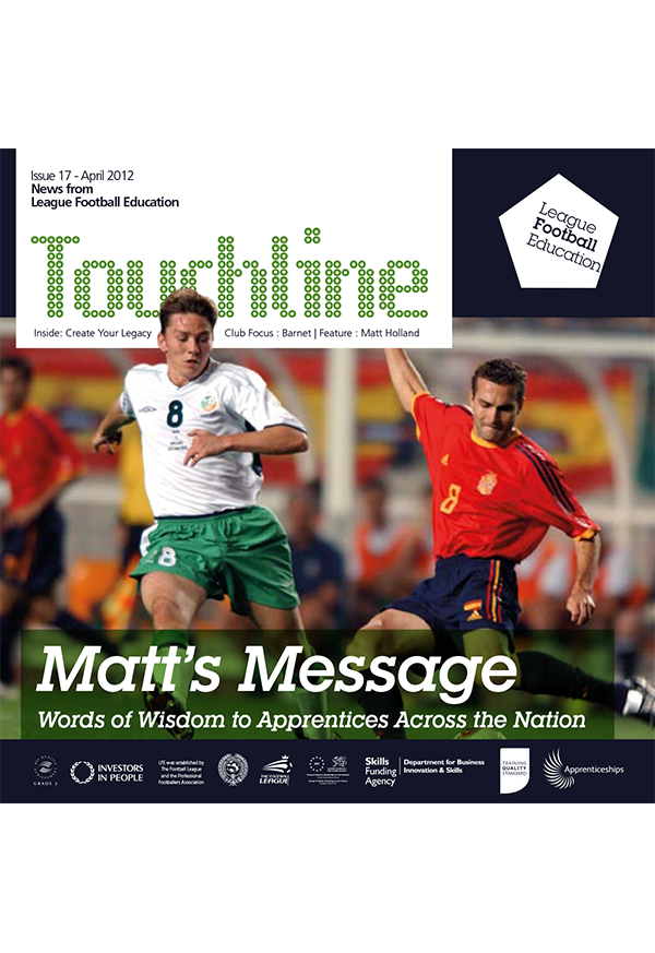 Issue 17 Of Touchline Avaliable