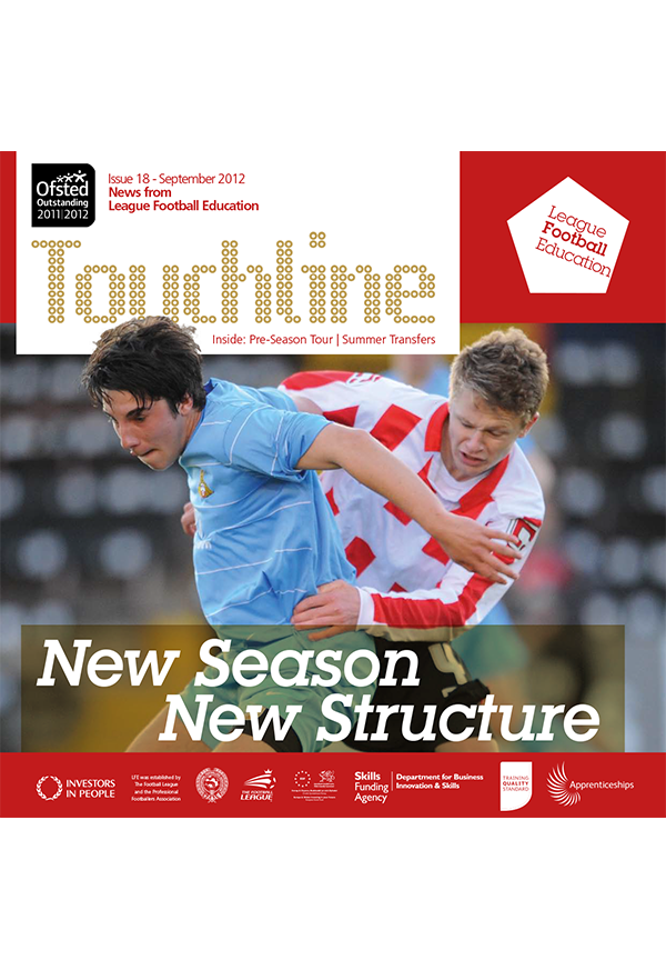 Latest Issue of Touchline Out Now