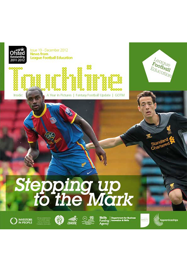 Touchline Issue 19 Out Now