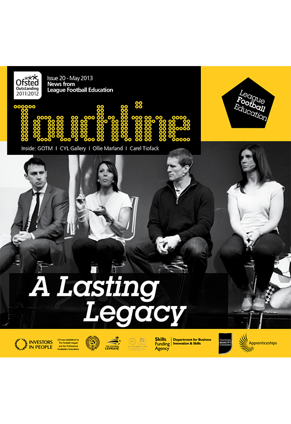 Touchline Issue 20 Out Now