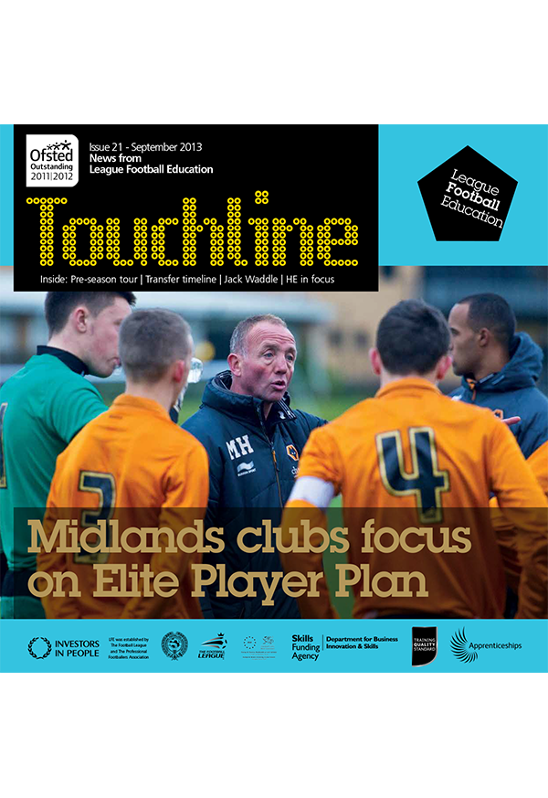 Touchline Issue 21 Out Now