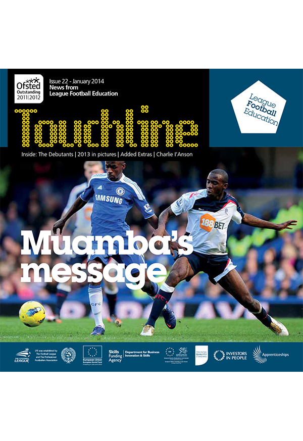 Fabrice Muamba, Charlie I'Anson And More In Touchline Issue 22