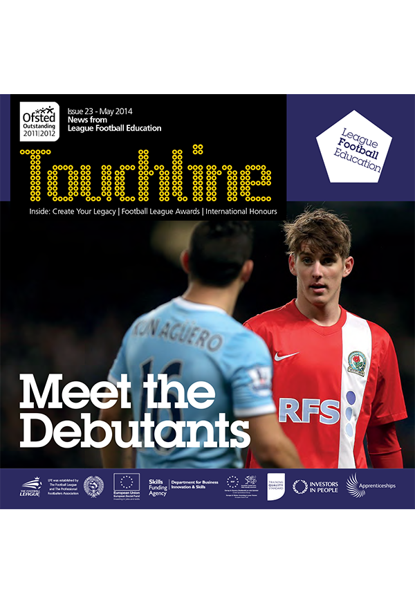 Marriner, Muamba & Burke on CYL, Youth Internationals And More: Touchline Issue 23