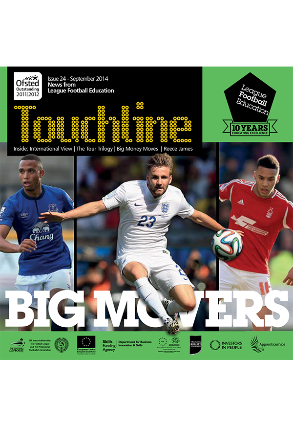 Issue 24 of Touchline Out Now