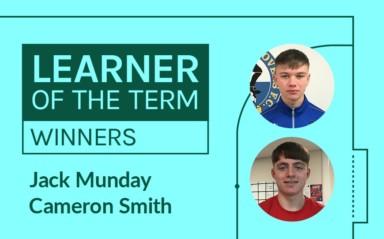 LFE Learner of the Term Winners | September – December 2019