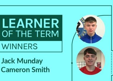 LFE Learner of the Term Winners   September – December 2019