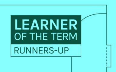 LFE Learner of the Term Runners-up | September - December 2019