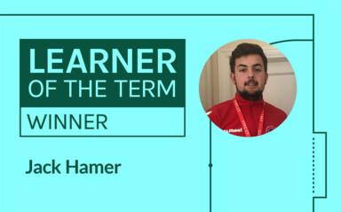 LFE Learner of the Term Winner | January - April 2020