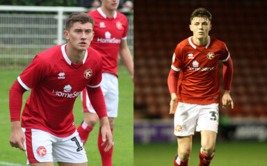 Saddlers Sign Apprentice Pair Willis & Perry