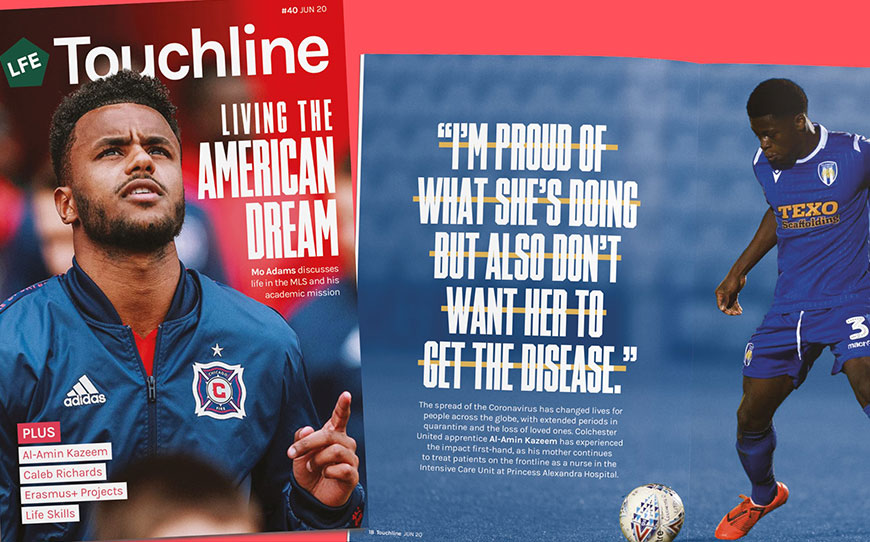 Touchline Issue 40 - Out Now