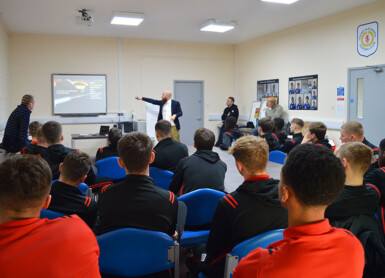 Sporting Chance Deliver Well-being Support To Crewe Apprentices
