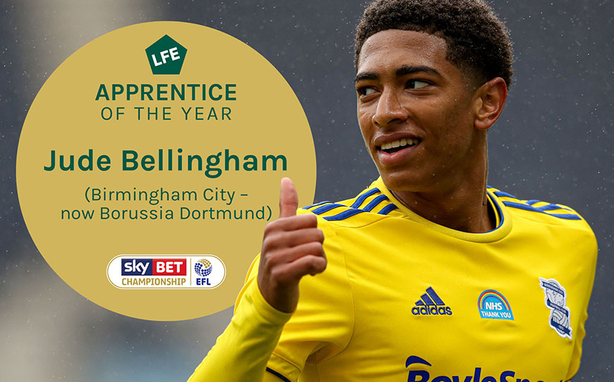 Jude Bellingham | LFE Championship Apprentice of the Year 2020