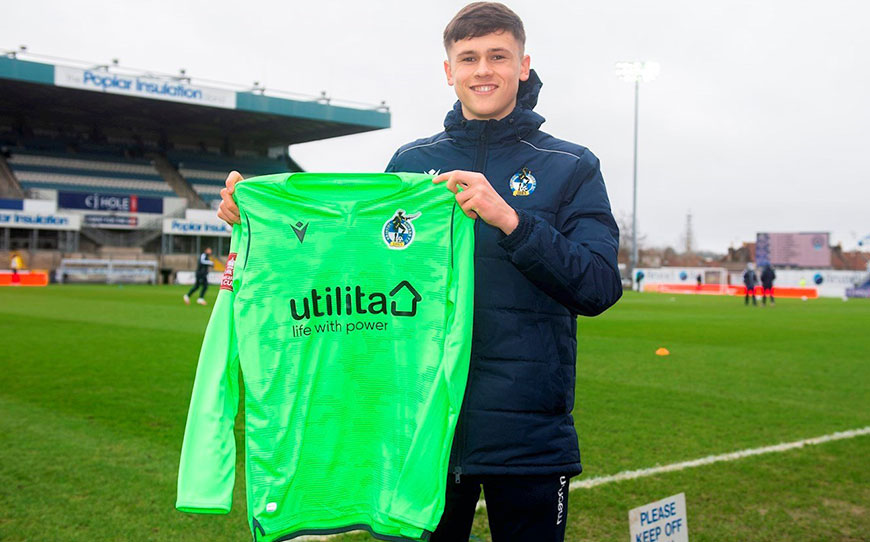 Young Keeper Ward Pens First Pro Deal