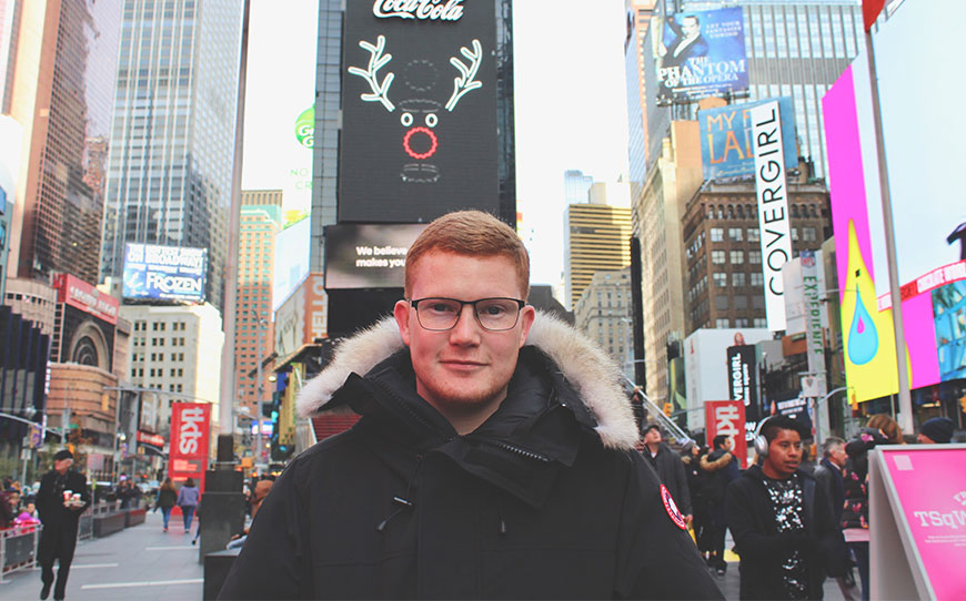 Ex-Accy Apprentice Doig Sets Up Business In The Big Apple