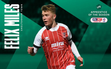 Felix Miles | LFE League Two Apprentice of the Season 2021