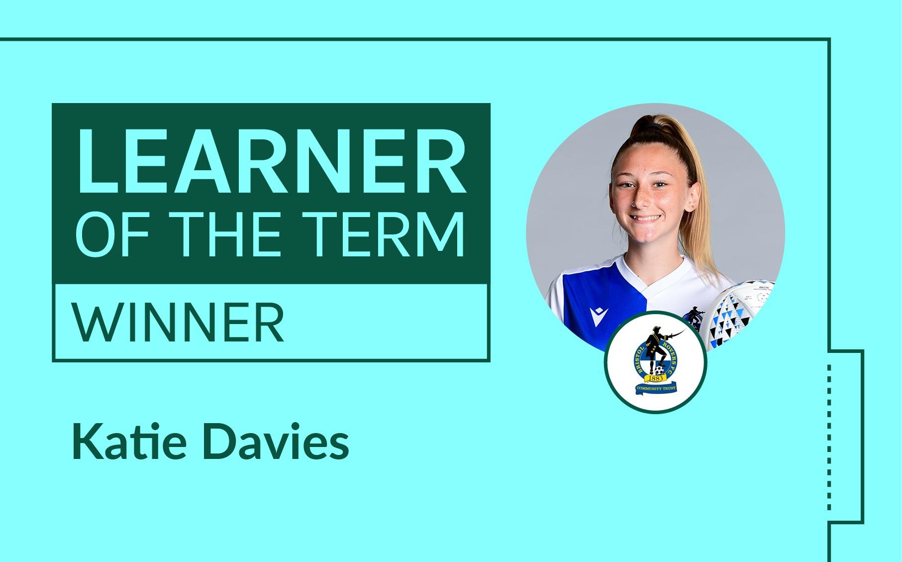 LFE Learner of the Term Winner   January - April 2021