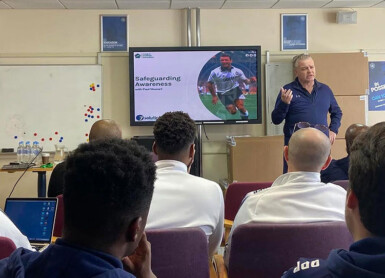 Apprentices Receive Safeguarding Education From Ex-England Ace Stewart