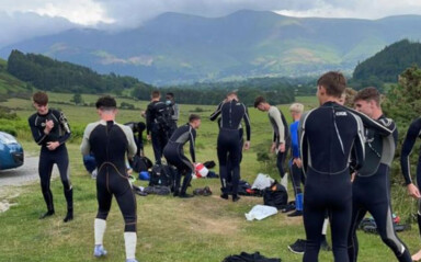 Boro Youngsters Bond In The Lakes