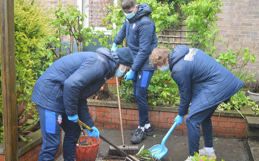 Bolton Apprentices Engage With Local Community