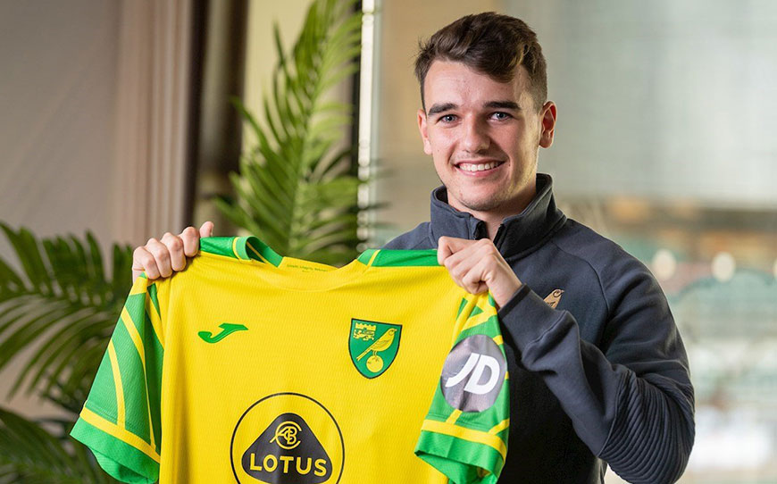Canaries Swoop For Ipswich Teen Gibbs