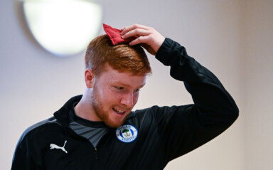 Latics Apprentices Relaunch 'Kids on the Move' Community Project