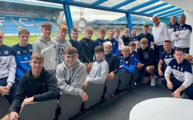 Carlisle Youngsters Attend Paul Stewart Safeguarding Session