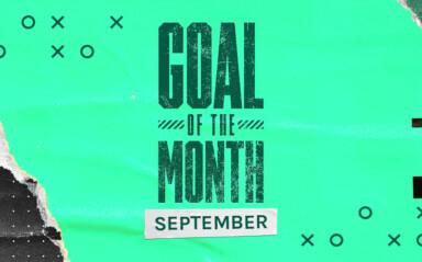 Goal of the Month Winner - September 2021