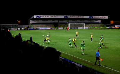 Forest Green Rovers Starlets Make Debut